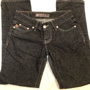 Rock and Republic crop Jeans